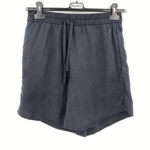 Lululemon Black Move Lightly Women's Activewear Shorts Tencel Lyocell Size 8